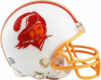 Tampa Bay Buccaneers 1976-1996 76-96 Throwback Riddell Mini Helmet New in -