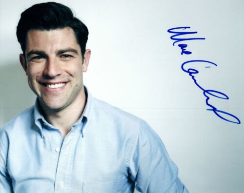 Max Greenfield Signed Autographed 8x10 Photo New Girl Star COA AB