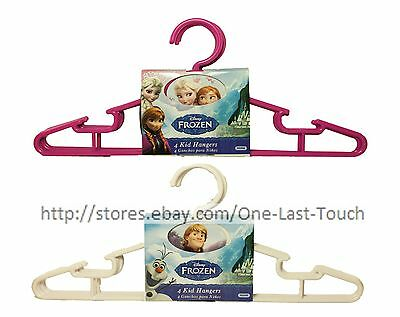 DELTA CHILDREN'S 4pc Set DISNEY FROZEN Kid Hangers CLOTHING New! *YOU - Disney Children's Clothing