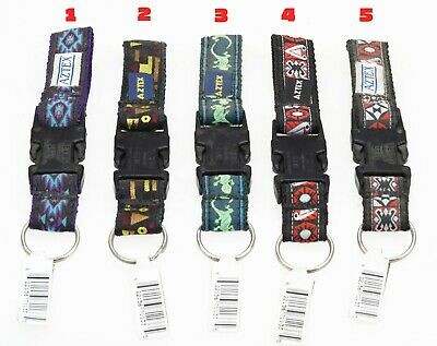 Aztex sports cycling belt loop keychain (New-Old Stock from 1990