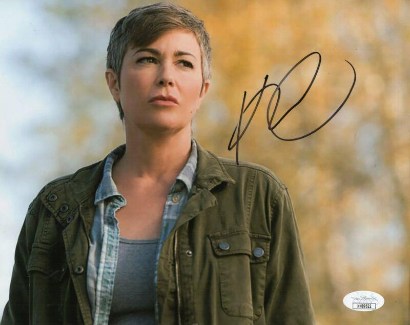 Kim Rhodes Autograph 8x10 Photo Supernatural Signed JSA COA 5