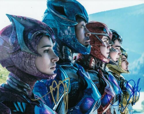 DACRE MONTGOMERY & BECKY G signed (POWER RANGERS) Trini 8X10 photo W/COA #3