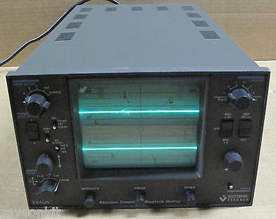 Electronic Visuals Ev-4151 Analogue Component Waveform Monitortest Equipment