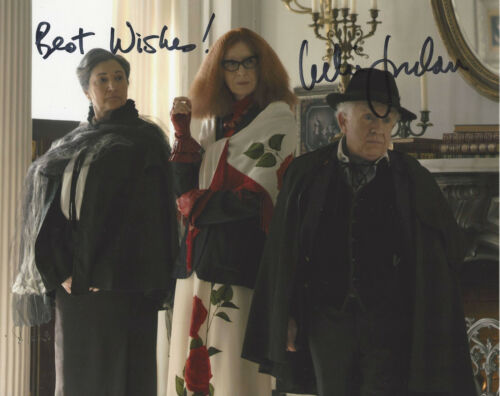 LESLIE JORDAN SIGNED AUTHENTIC 'AMERICAN HORROR STORY' 8x10 PHOTO COA TV ACTOR