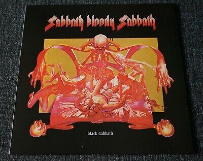 "black sabbath ""sabbath bloody sabbath"" LP (mint)"