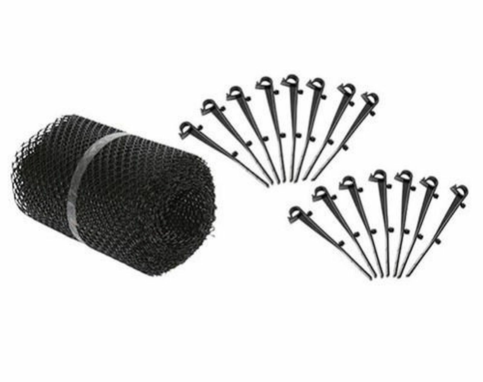 Gutter Guards with 15 clip Hooks For Easy Installation. 6.5i