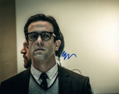 BJ Novak Signed Autographed 8x10 Photo The Office Ryan Spiderman VD