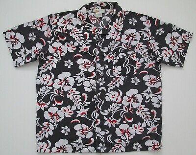 "Vintage Auth Pacific Teaze Hawaiian Shirt 52""-132cm XL (26H)"