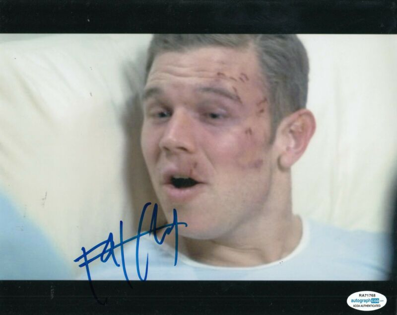 RYAN HURST signed (REMEMBER THE TITANS) Movie 8x10 photo Gary Bertier ACOA #1