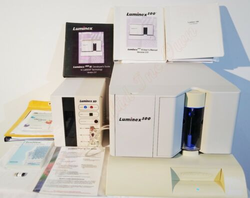 Luminex 100 IS Luminex SD Microplate Reader with Beadview Software and USB Key