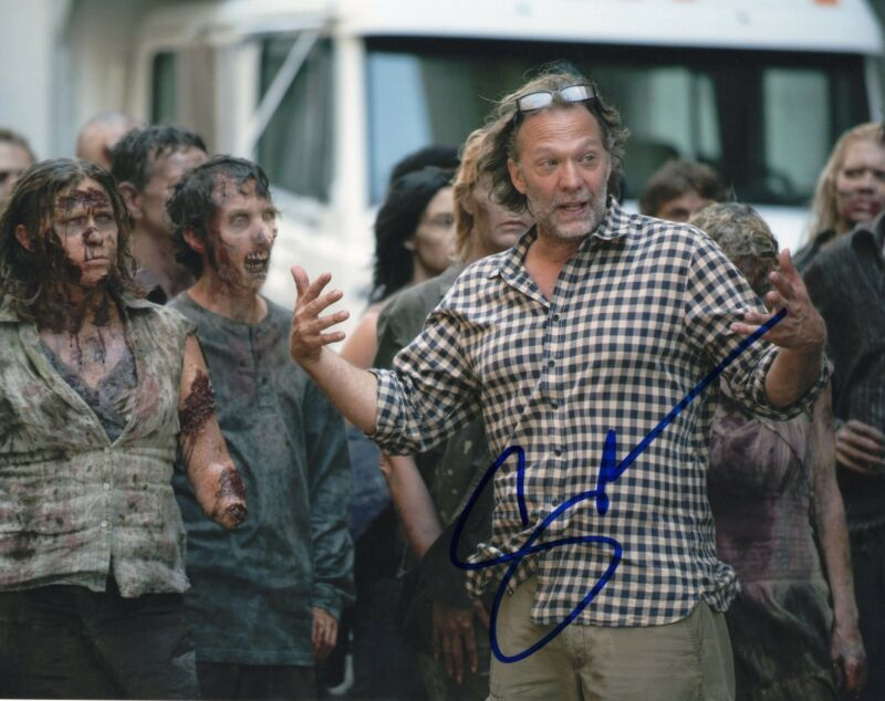Gregory Nicotero The Walking Dead Signed 8x10 Photo w/COA Director #11