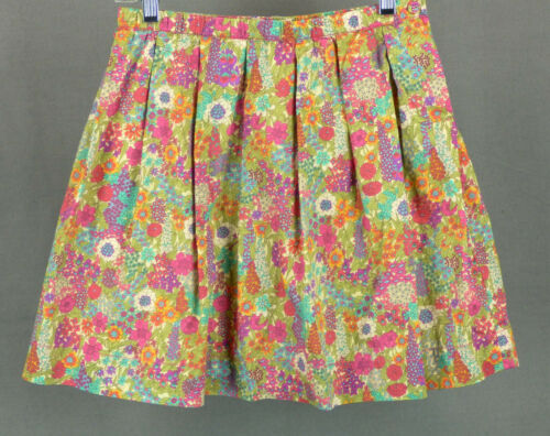 327 Peek girl multi-color floral skirt EUC Size XL(10Y)