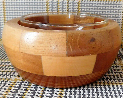 Vintage Cambridge Ware wooden bowl for jam sauce sugar preserve 1950s 1960s 5