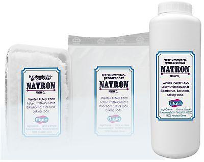Natron 1 kg-Schraubdeckeldose Backpulver   Dose food grade Natriumbicarbonat
