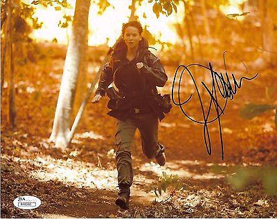 Jennifer Lawrence Autographed Signed 8X10 Photo Jsa Coa  7    Rare Signature