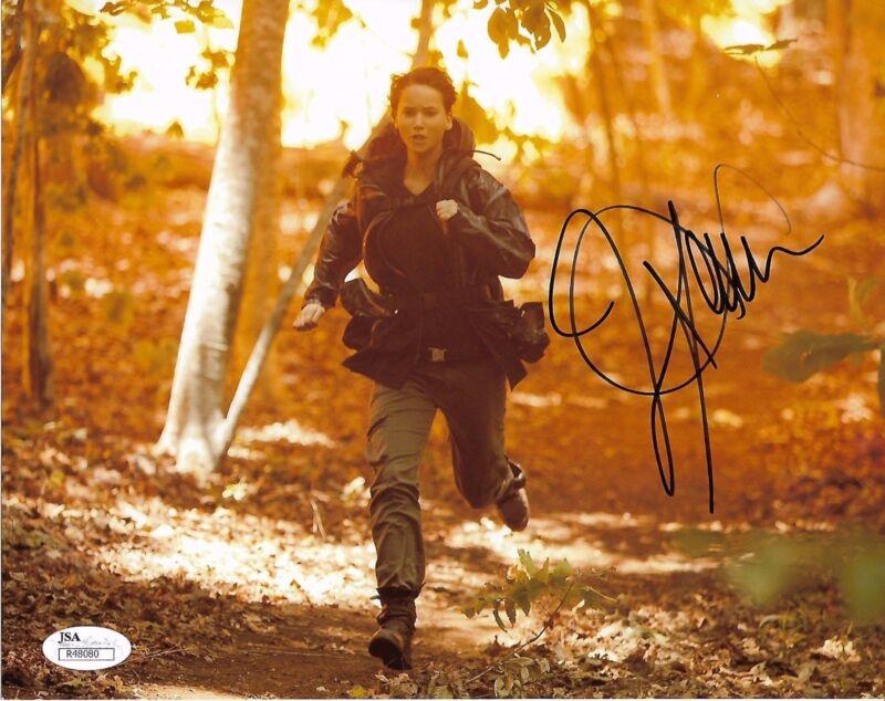 Jennifer Lawrence Autographed Signed 8x10 Photo JSA COA #7 ***rare signature***
