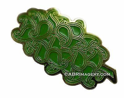 Hat Pin 52 - Paisley Dank Nugget - Headdy 420 710 Dab Glassblowing LSD THC