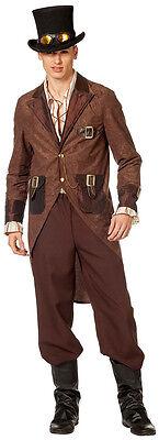 Viktorianischer Gentleman Steampunk Kostüm NEU - Herren Karneval Fasching - Steampunk Gentleman Kostüm
