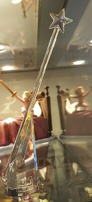 Disney WDCC Pinocchio Blue Fairy Crystal Wand Limited to 1000 Rare