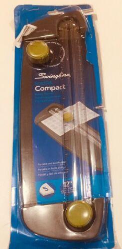 "Swingline SmartCut Compact Personal Trimmer 12"" Cut Length 5 Sheet Capacity"