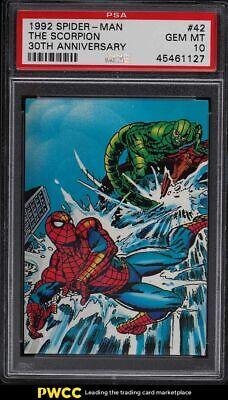 1992 Spider-Man 30th Anniversary The Scorpion 42 PSA 10 GEM MINT - $2.25