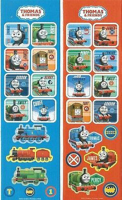 Thomas and Friends Scrapbook Sticker Sheets ](Thomas Stickers)