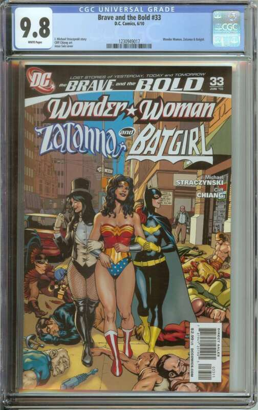 BRAVE AND THE BOLD #33 CGC 9.8 WHITE PAGES