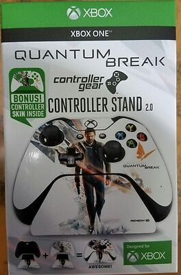 XBOX ONE Official Quantum Break Controller Stand 2.0 + Forza skin. READ BELOW comprar usado  Enviando para Brazil