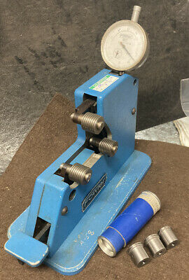 Fowler Dial Thread Comparator Gage 12p Machinist Tool Maker Inspection