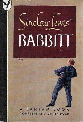 BABBITT  by Sinclair Lewis, usado segunda mano  Embacar hacia Argentina