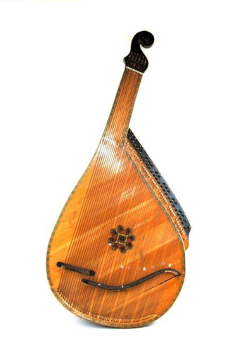 Vintage National Ukrainian folk folk string instrument Bandura Kobza  55 strings