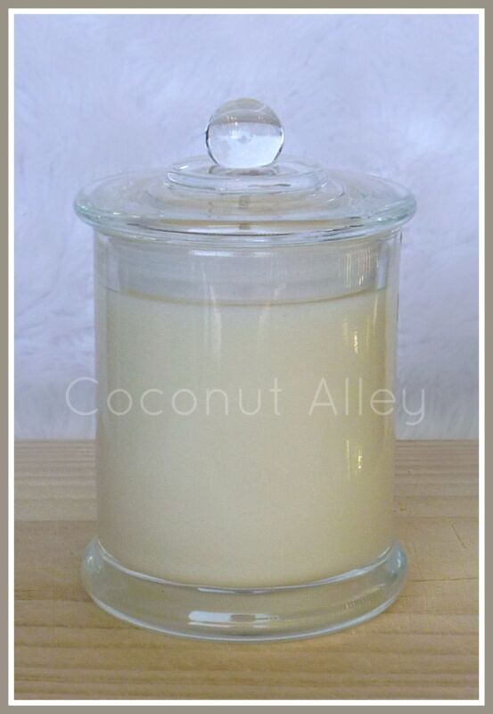 Soy Wax Candle made by Coconut Alley.