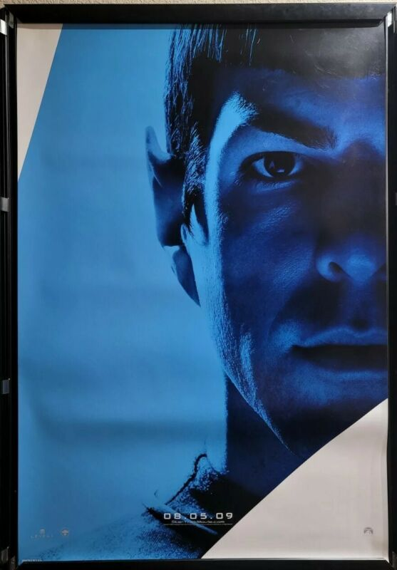 Star Trek XI (2009) Spock Double Sided 27x40 Poster