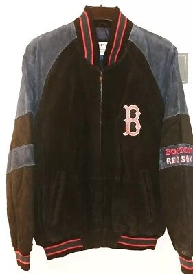 Sox Mens Leather - Boston Red Sox Officially Licensed Mens Leather Jacket NWT Size Medium