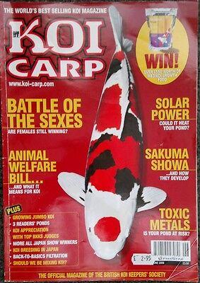 KOI CARP MAGAZINE ~ JUNE 2006 ~ ISSUE 135