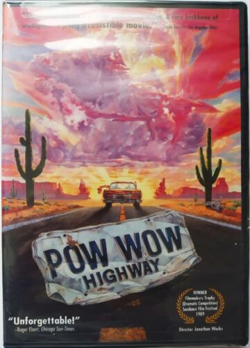 Powwow Highway (DVD, 2004) Widescreen, NTSC, Region 1