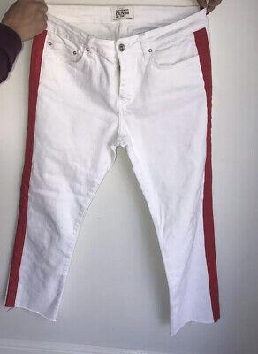 Zara Jeans 38 Waist -around Size 10/12