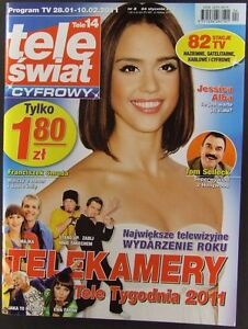 JESSICA ALBA mag.FRONT cover 2/2011 Poland Tom Selleck, Malgorzata Socha - europe, Polska - Zwroty są przyjmowane - europe, Polska