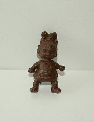 2 Vtg Toy Gum Machine Prize Ring Pebbles Flintstone Hanna Barbera 1970s NOS HB