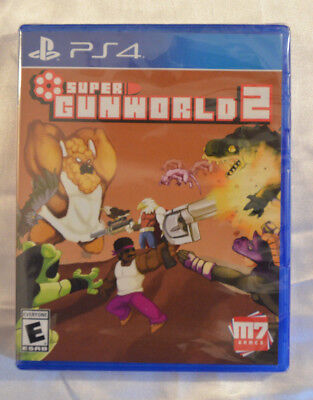 Super Gunworld 2 Sony Playstation 4 PS4 Limited Run Games 106 New Factory Sealed
