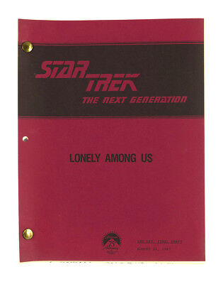 """Lonely Among Us"" - Star Trek: The Next Generation - Original Script"