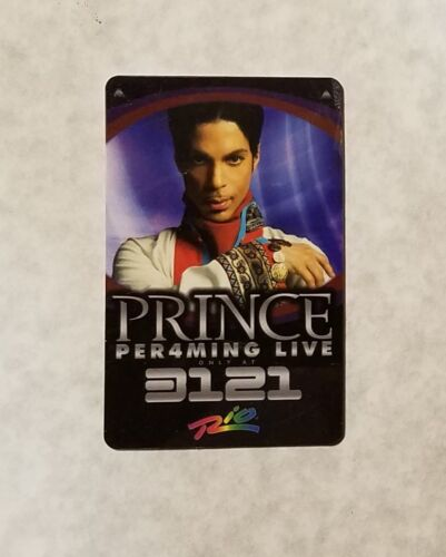 Prince the Artist - Per4orming Live 3121 @ Rio - Near Mint ROOM KEY