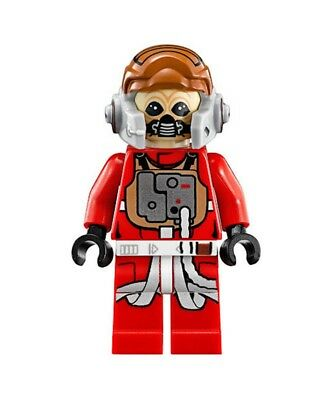 GENUINE Star Wars Minifigure Ten Numb sw556 75050 B-Wing EUC! RARE!!