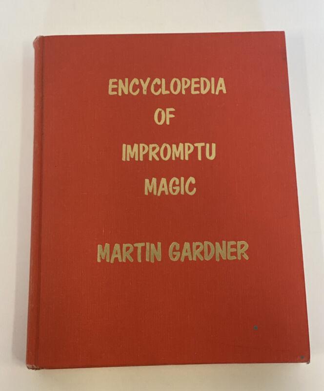 Encyclopedia of Impromptu Magic Book Martin Gardner