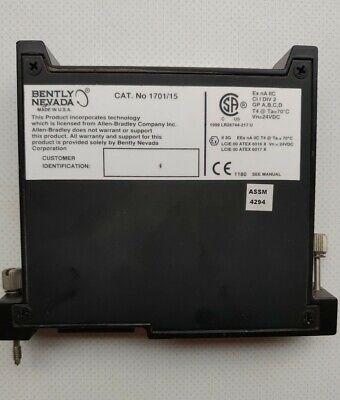Bently Nevada 170115 Field Monitor Proximitor Input Monitor