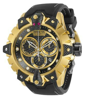 32227 Invicta Reserve Venom Mens Chronograph Qrtz 52mm Case Silicone Strap Watch