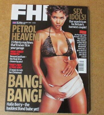 FHM Magazine SHANIA TWAIN HALLE BERRY 007 Pierce Brosnan Rachel Grant James Bond