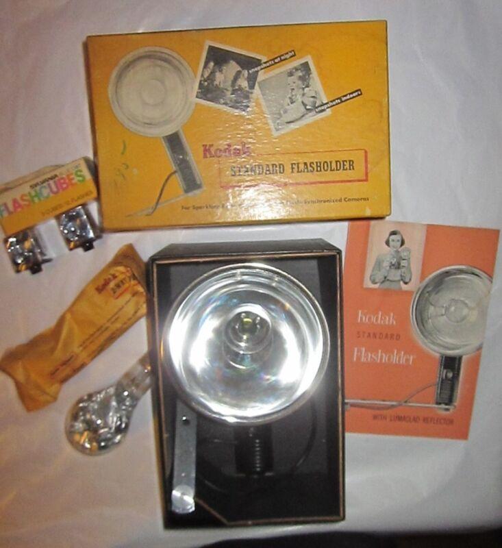 Kodak Standard Flasholder Lumaclad Reflector 2-Way Flash Original Box