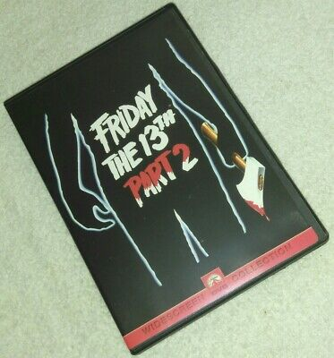 Friday the 13th, Part 2 DVD Steve Miner  1981 horror Halloween