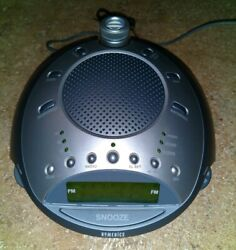HoMedics Relaxation Spa Sound Alarm Clock w/6 Nature Sounds-SS-4000-(Pre-owned)